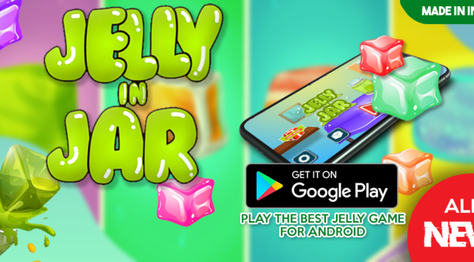 Jelly in Jar – 3D Tap and Jumping Jelly Game brings a full doze of Fun
